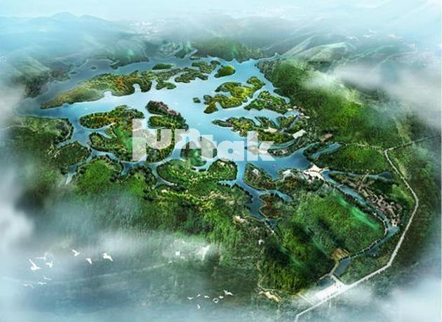 生态景观规划——河源市南天中医药生态养生谷