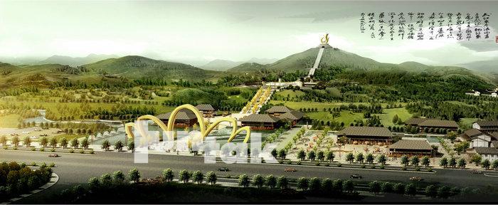 城市旅游规划——江西宜春禅都文化博览园