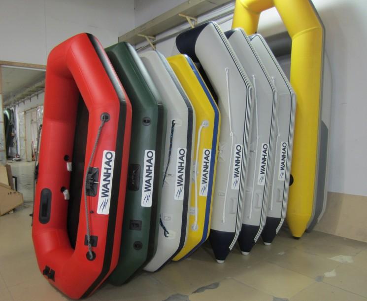 万豪进口PVC面料、橡皮艇2-10人