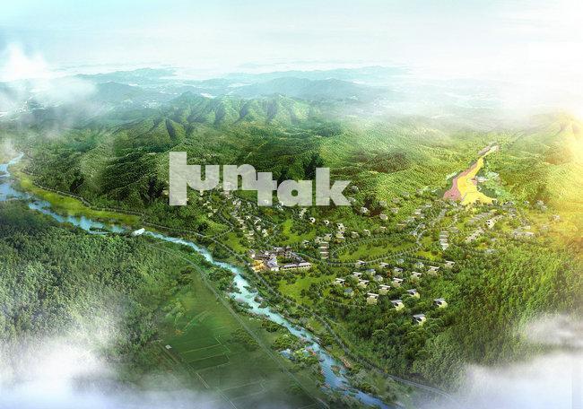 生态旅游规划——南泥湾生态旅游区总体规划、局部区域控制性详细规划