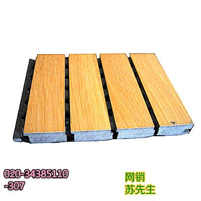 武汉体育馆隔音吸音建筑材料合成木质开槽LYS29贴面槽板