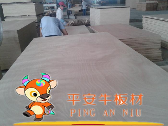 平安牛板材 高档进口柳桉芯胶合板 家具板材 最好多层板