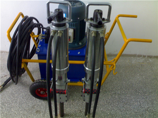 东莞三象机械设备液压劈裂机图片