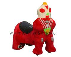 供应毛绒动车动物玩具车现货销售