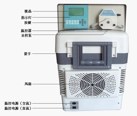 8000D型全自动水质采样器