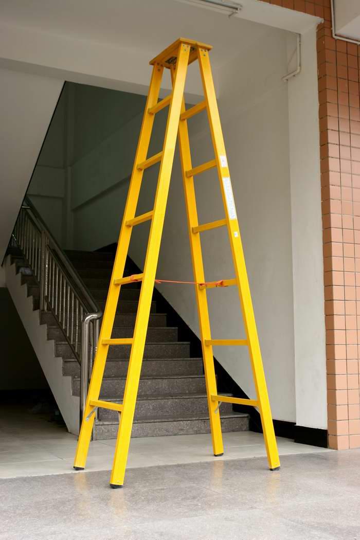 绝缘升降梯 供电局专用的环氧树脂材质绝缘梯子
