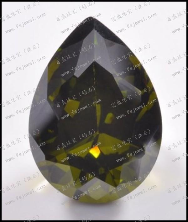 犁形锆石橄榄石锆石
