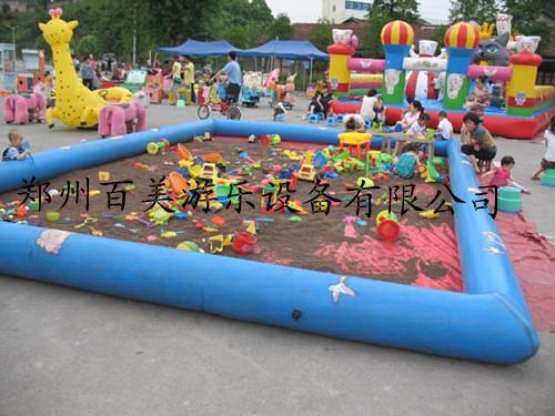 快乐宝贝决明子沙滩玩具/儿童沙池多买多送