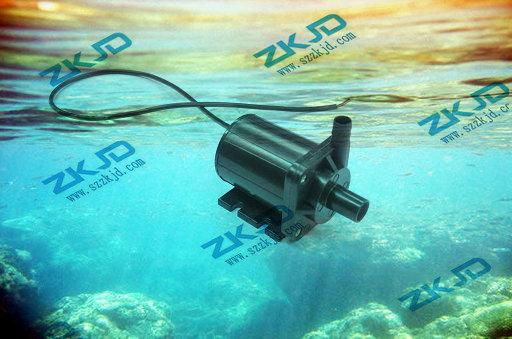 12V水泵 潜水泵家用 音乐喷泉水泵 假山