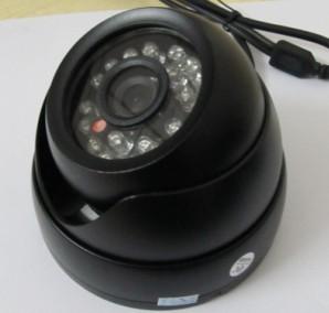 供应电梯摄像头 车载监控小海螺 24颗红外灯