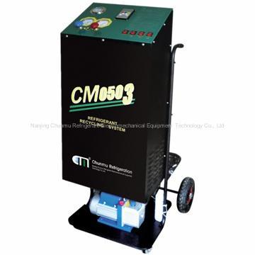 汽车空调冷媒回收加注机(定量加注)
