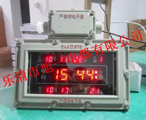 BSZ2011系列防爆多功能电脑数字钟(信息万年历)