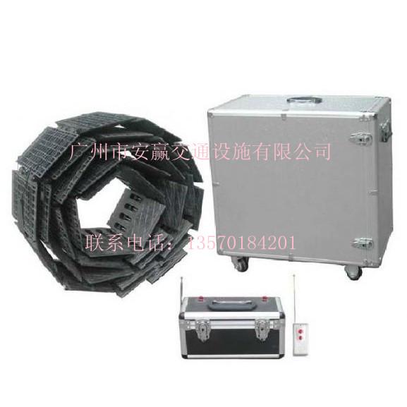 遥控路障器/交通扎胎器/高速阻轮器广州安赢专业生产全国优质供应