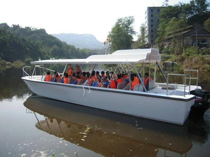 中国(制造)万豪游艇、938敞开艇、观光艇