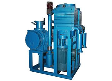 干式真空泵机组-JZJLG系列罗茨螺杆干泵真空机组