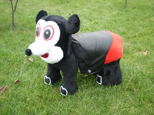 电动动物车 电动动物电瓶车 儿童电动车 儿童电瓶车 毛绒玩具