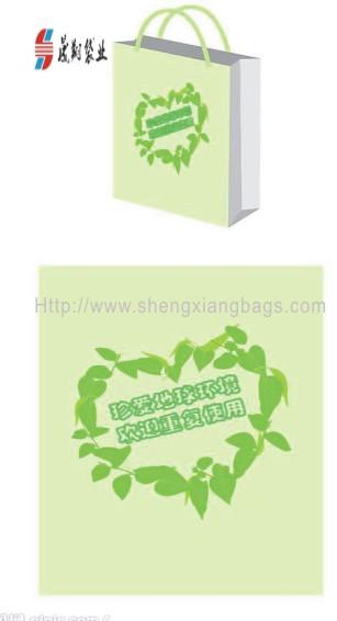 宝安区手挽袋  手提袋印刷  手提环保袋