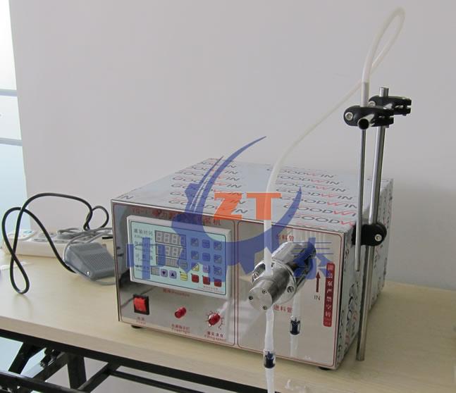 小型电动液体灌装机 磁力泵灌装机 小型农药灌装机