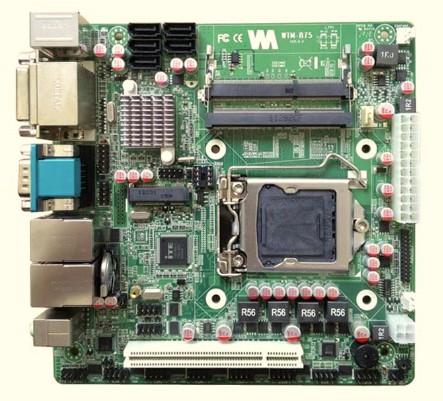 微特迈b75 atx供电10串口12usb双网口带pci 金融自助终端 atm vtm