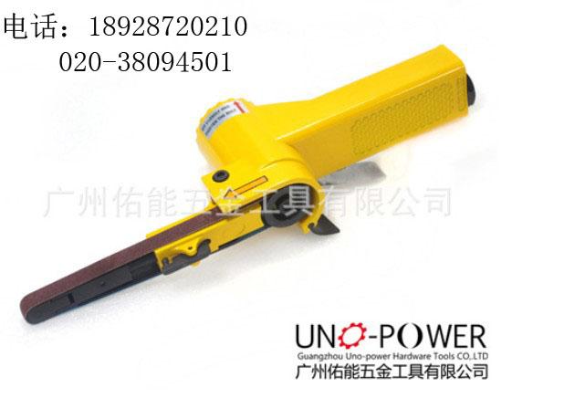 供应台湾佑能Uno-power气动砂带机 砂布环带机
