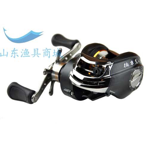 德米克黑色路亚专用水滴轮渔轮11轴无间隙路亚轮