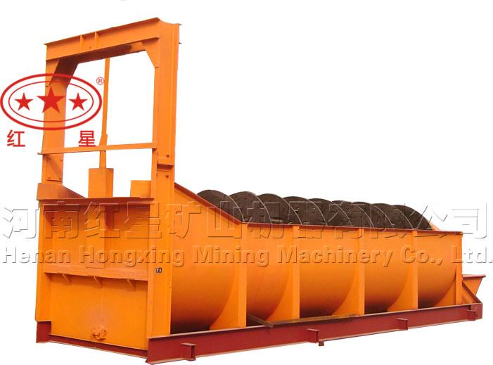 高堰式单螺旋分级机-LY13分级机-水果分级机
