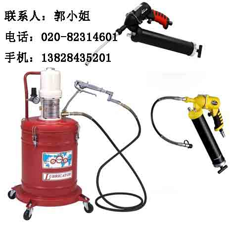 台湾久隆黄油机 久隆气动黄油加油泵