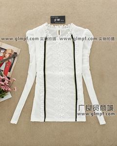长袖T恤批发市场潮流印花长袖批发市场热卖长袖女装小衫批发市场韩版