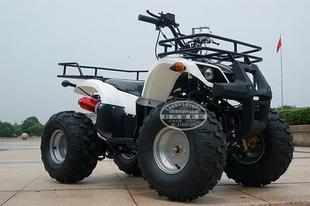 顶配小公牛沙滩车 前后碟刹大轮胎四轮沙滩越野 双铝排倒档沙滩车