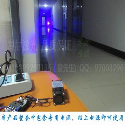 大功率蓝光激光模组 超远射程蓝光光束指示器 可见光束激光器