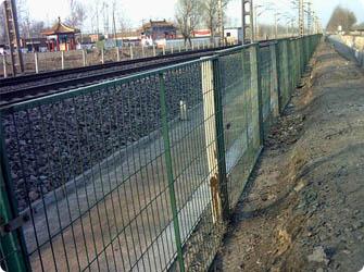 铁路护栏网,铁路围网,体育围网,刺绳