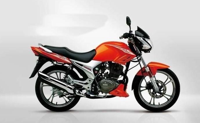 豪爵锐爽EN150摩托车 豪爵摩托车