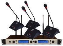 一拖四无线会议话筒麦克风