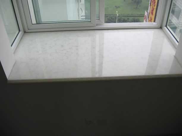 窗台大理石照片;
