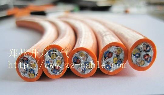 高柔性聚氨酯电缆 聚氨酯拖链电缆 聚氨酯螺旋电缆
