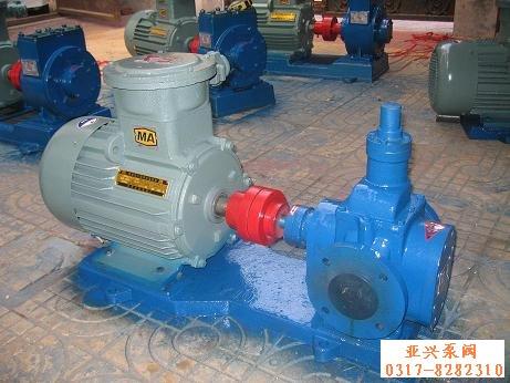 YCB圆弧泵 价格,规格,河北德昌齿轮油泵厂生产