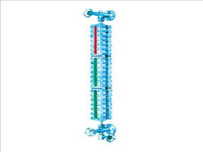 磁敏电子双色液位计批发 智能磁敏电子双色液位计价格 锅炉仪表