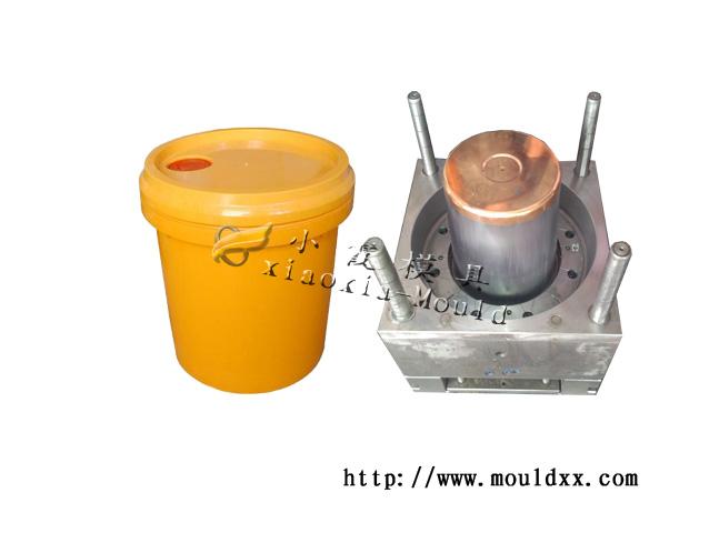 20L涂料桶模具打造高档塑料模