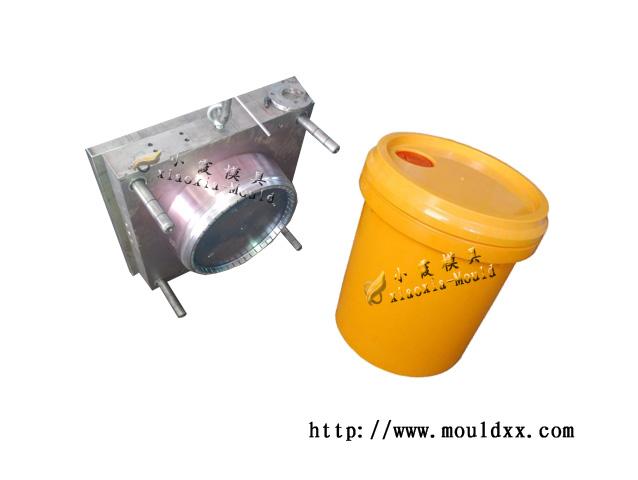 塑胶20L涂料桶模具,叉车板模生产