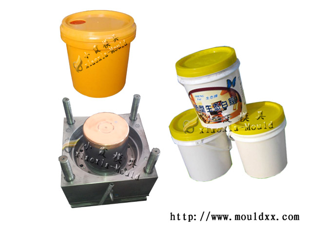 塑胶5L涂料桶模具,为您创新生活
