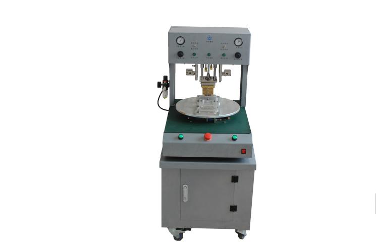 转盘式热压焊机 脉冲热压焊接机 立式转盘热压机