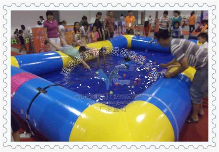 儿童充气钓鱼池