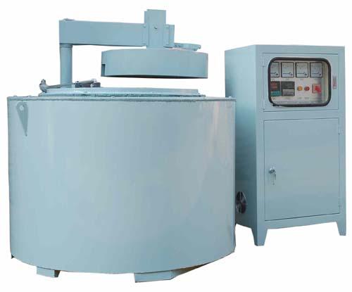 坩埚式铝合金电阻炉、坩埚式熔化炉