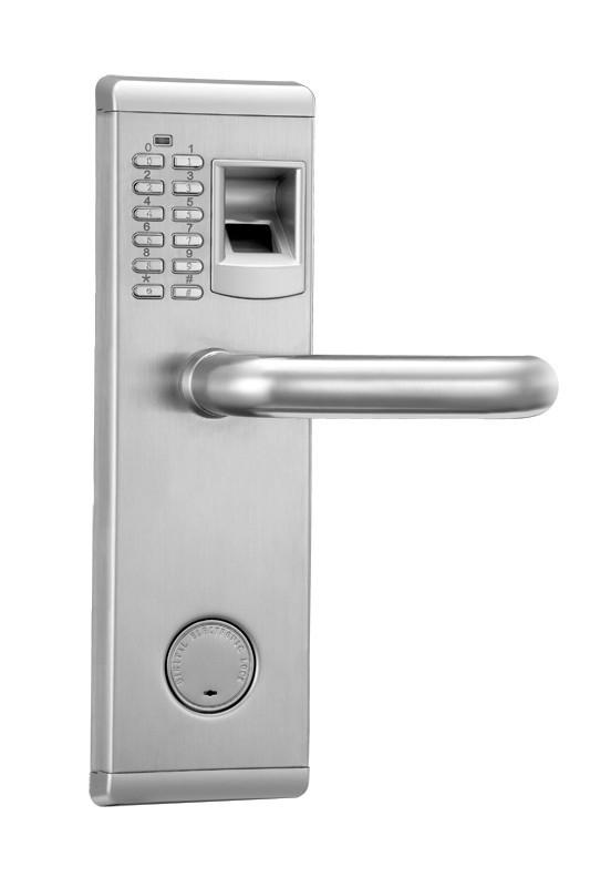家用指纹锁-【鼎程指纹锁】不绣钢材质
