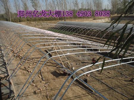 太原砖墙日光温室预算 运城双梁钢架大棚建造