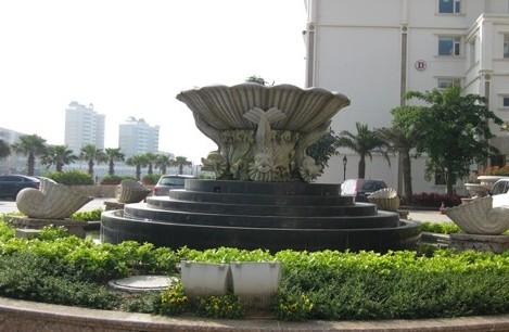 宜兴石雕水钵