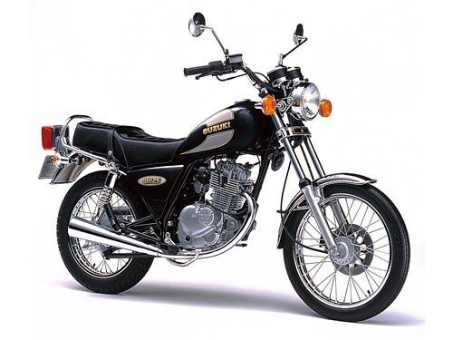 豪爵铃木gn125摩托车跑车