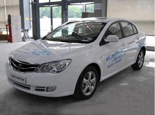 荣威350 EV纯电动轿车高清图片