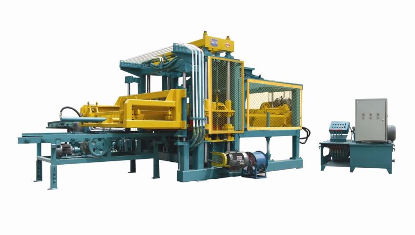 江阴透水砖机设备水渣制砖机水泥砖机设备产量高赚钱快