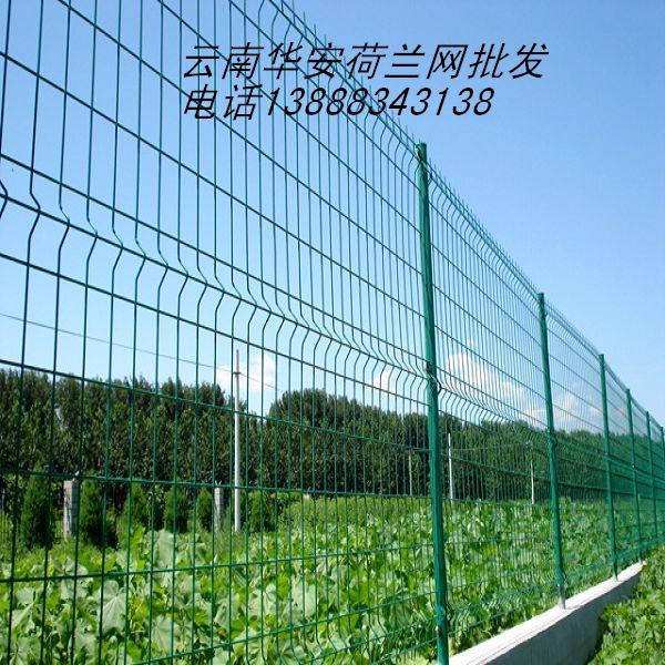 云南波浪型荷兰网 PVC涂塑电焊网 养殖围栏网